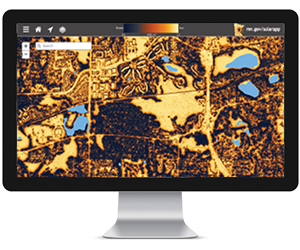 ANALYSE SURFACE SUR CARTE 3D